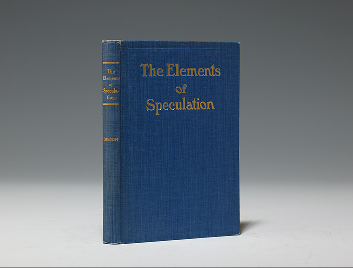 Elements of Speculation