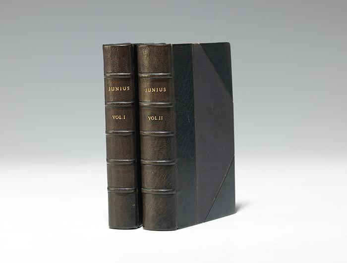 Junius, Stat Nominis Umbra [The Letters of Junius]