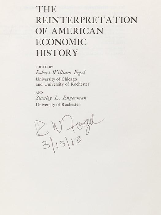 Reinterpretation of American Economic History