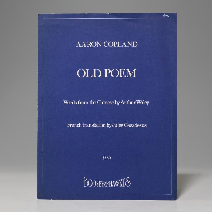 Old Poem