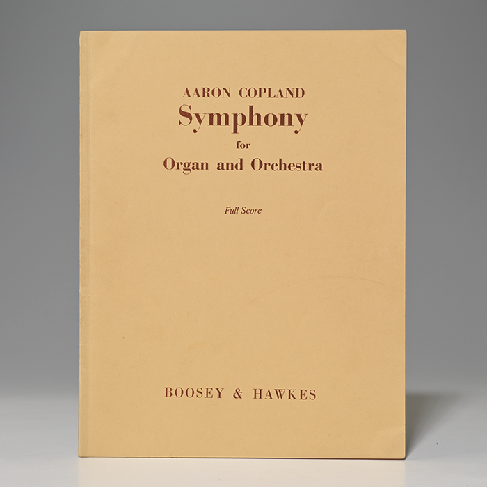 Symphony for Organ and Orchestra