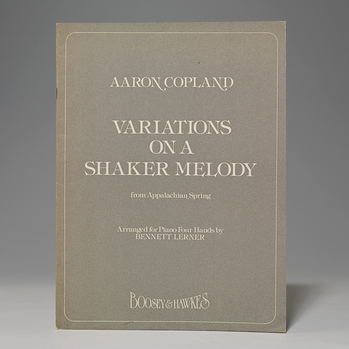 Variations on a Shaker Melody