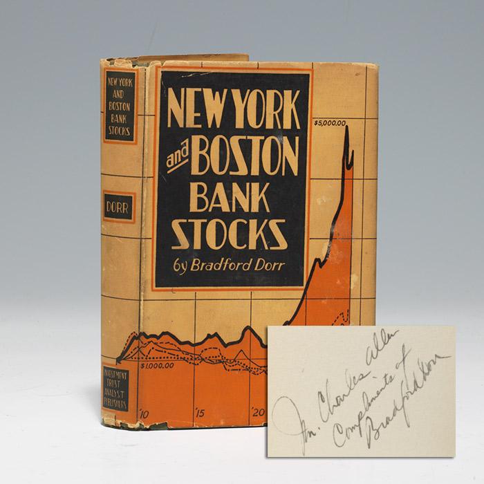New York and Boston Bank Stocks