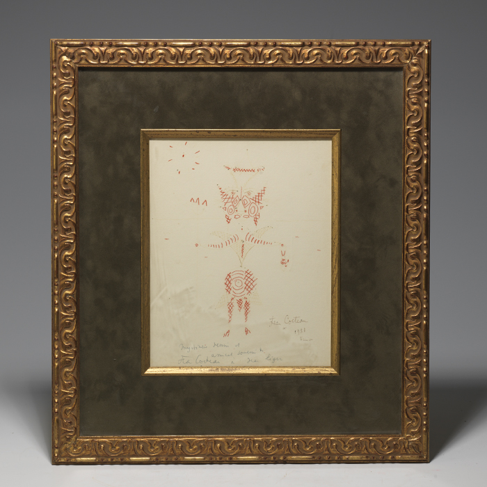 Original drawing signed