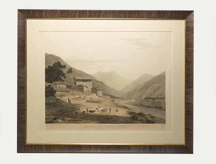 Buddell, Opposite Bilkate in the Mountains of Sirinagur