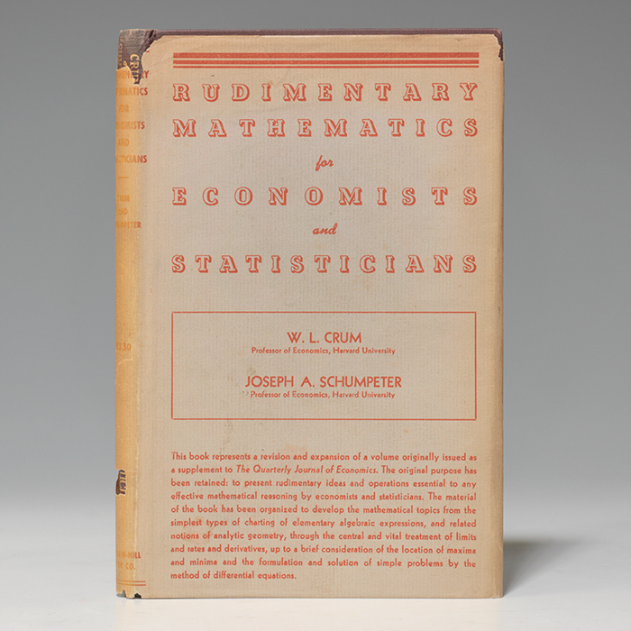 Rudimentary Mathematics for Economists and Statisticians