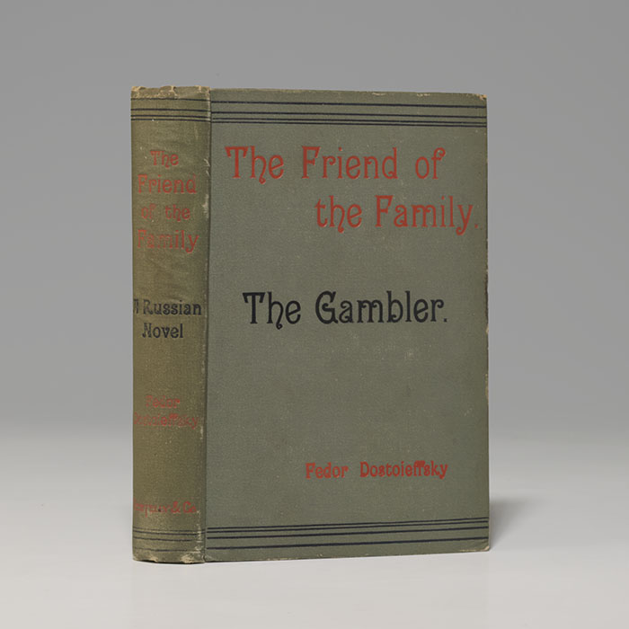 Friend of the Family; and The Gambler