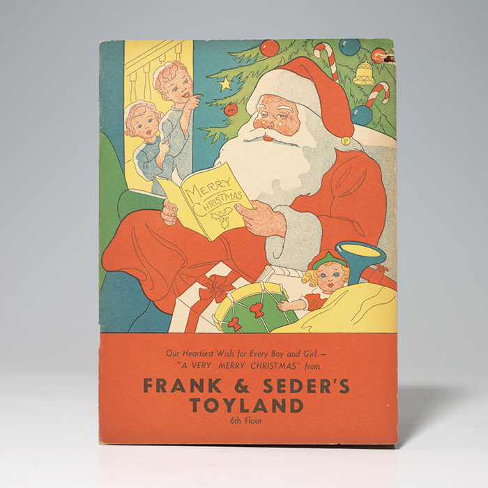 Frank and Seder's Toyland activity book