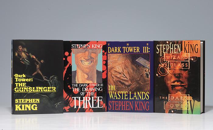 Dark Tower, Books I, II, III, IV