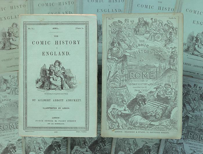 Comic History of England, The Comic History of Rome