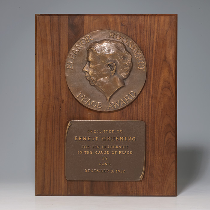 Eleanor Roosevelt Peace Award
