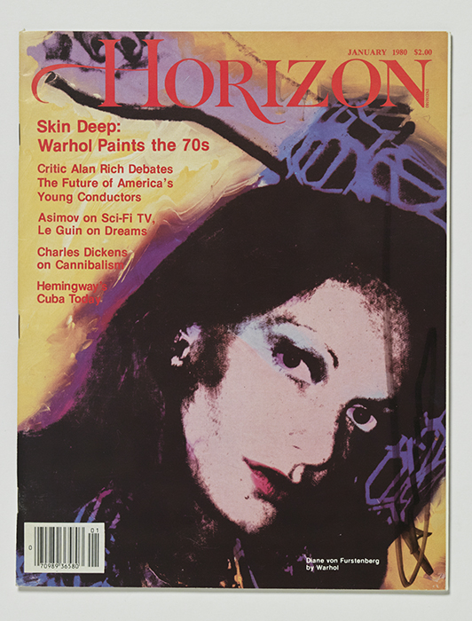 Horizon magazine signed