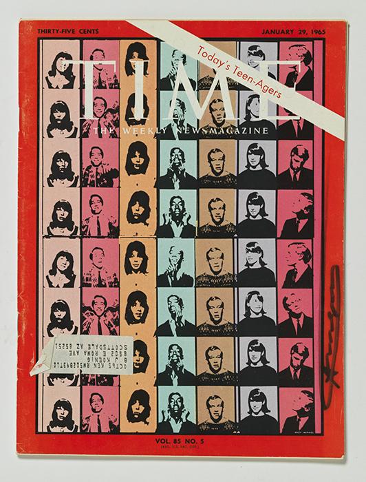 Time magazine signed