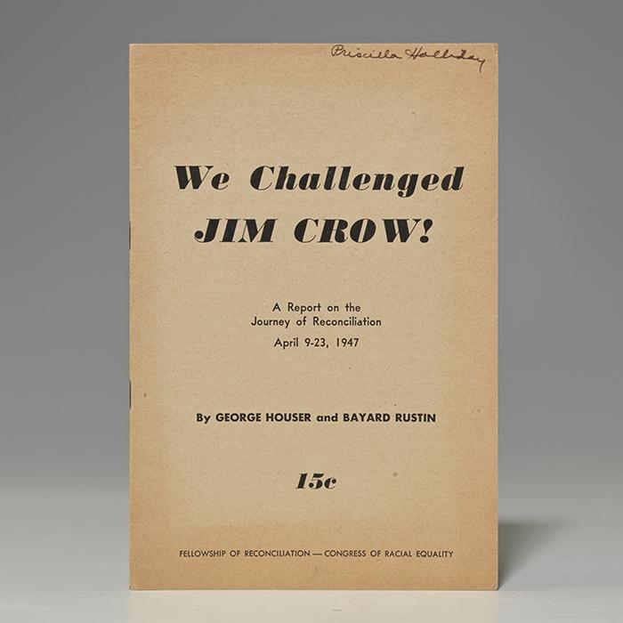 We Challenged Jim Crow!