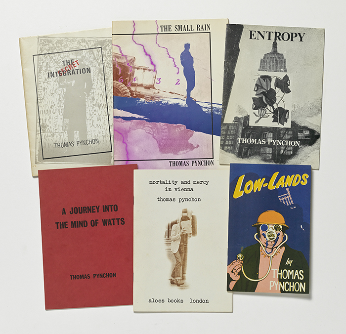 Set of 6 chapbooks