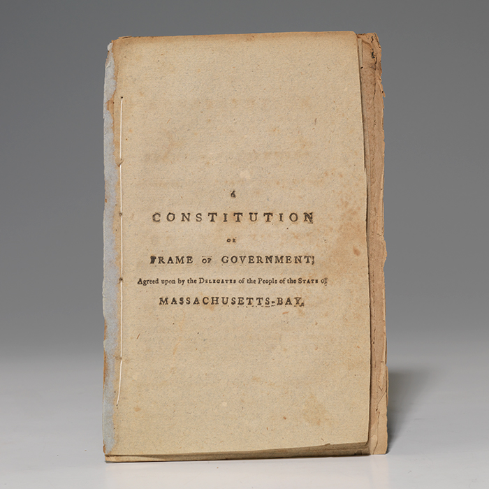 Constitution or Frame of Government... Massachusetts-Bay
