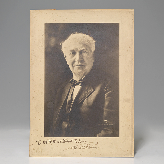 Photograph inscribed
