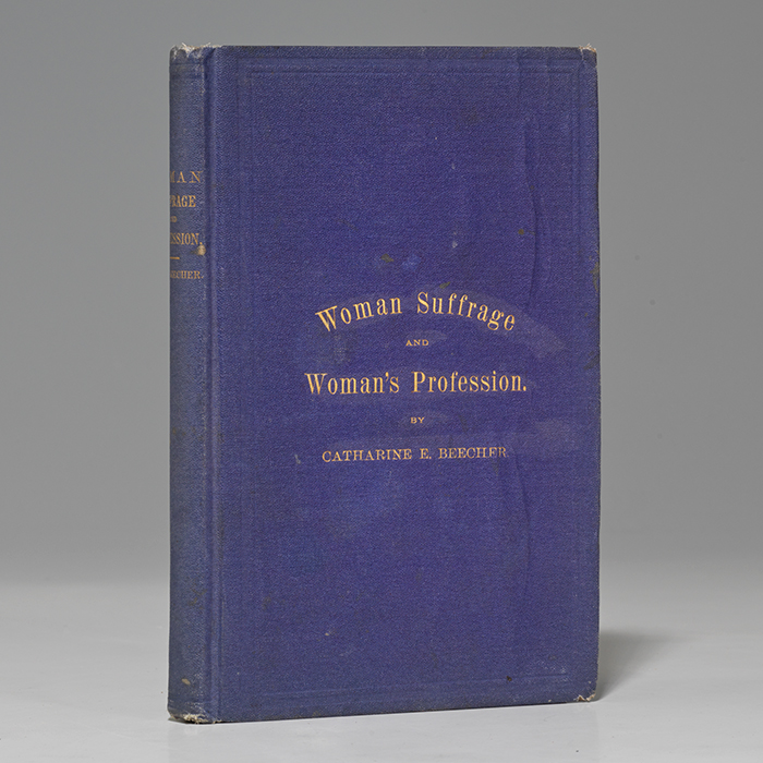 Woman Suffrage and Woman's Profession