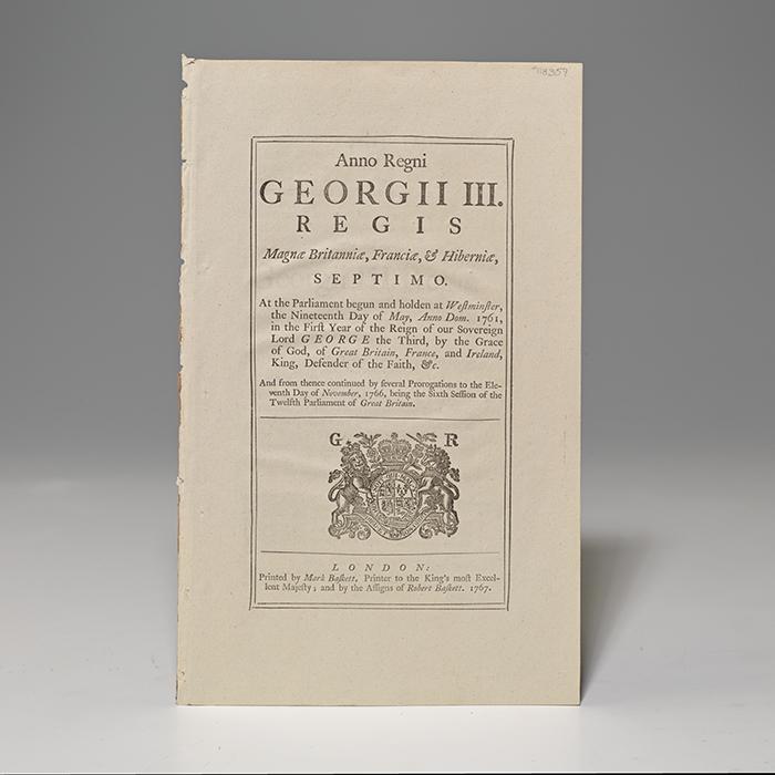 Anno Regni Georgii III