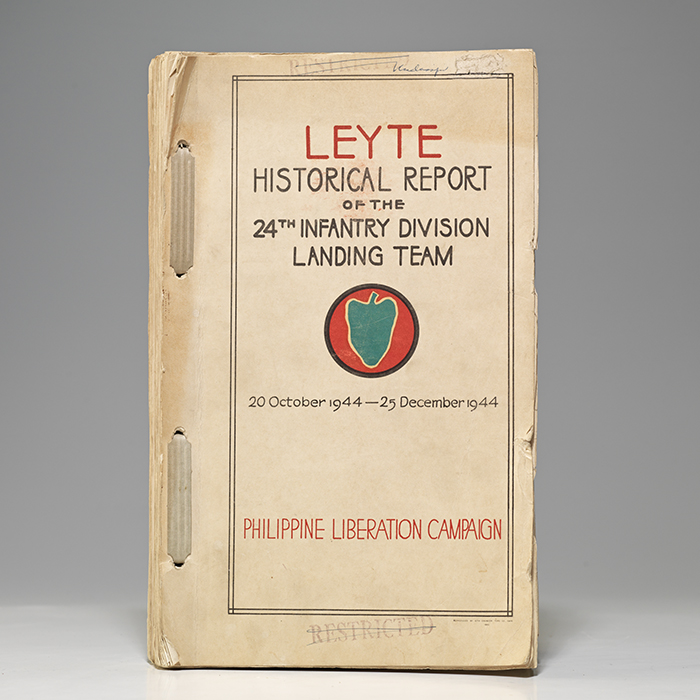 Leyte Historical Report of the 24th Infantry Division Landing Team