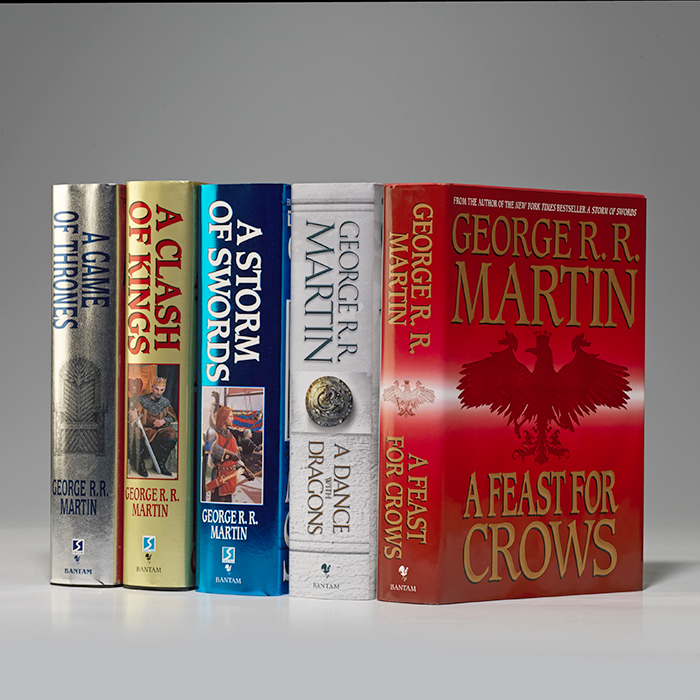 Song of Ice and Fire (i.e., Game of Thrones: Set of 5 novels)