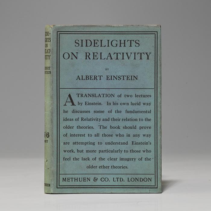 Sidelights on Relativity