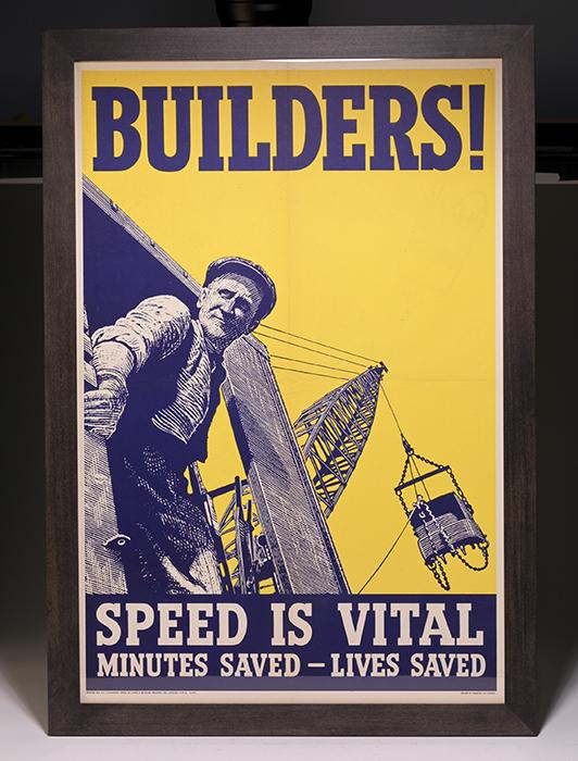 Poster: Builders! Speed Is Vital