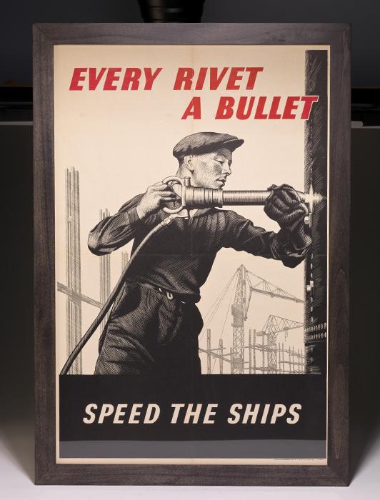 Poster: Every Rivet a Bullet