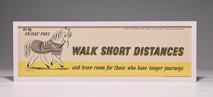 Poster: Walk Short Distances