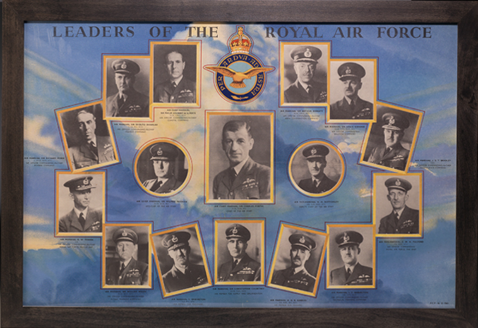 Poster: Leaders of the Royal Air Force