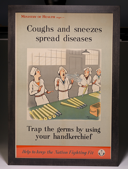 Poster: Coughs and Sneezes Spread Diseases