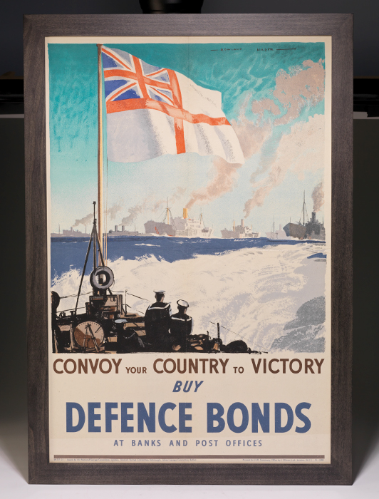 Poster: Convoy Your Country to Victory