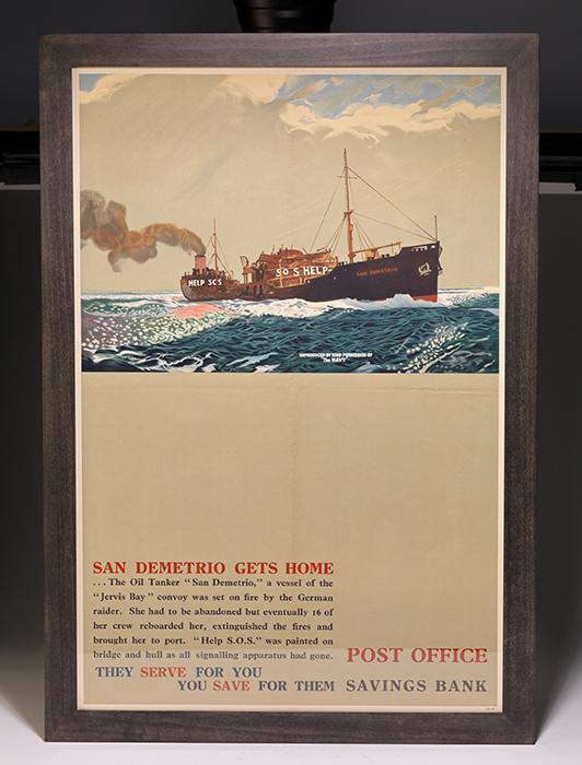 Poster: San Demetrio Gets Home