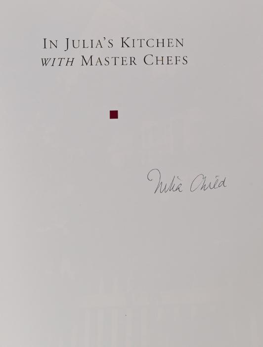 In Julia's Kitchen with Master Chefs