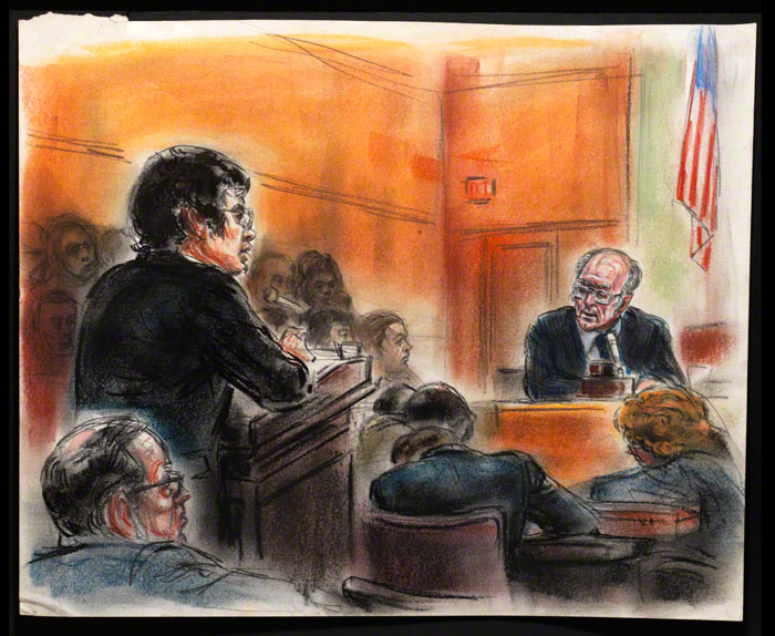 Watergate Hearings: 16 original courtroom sketches