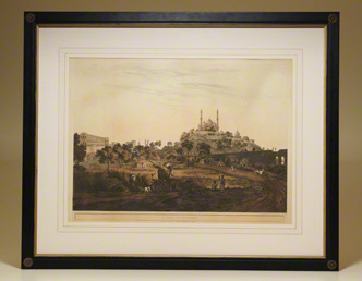 View at Lucknow. FROM: Twenty-Four Views Taken in St. Helena, the Cape, India