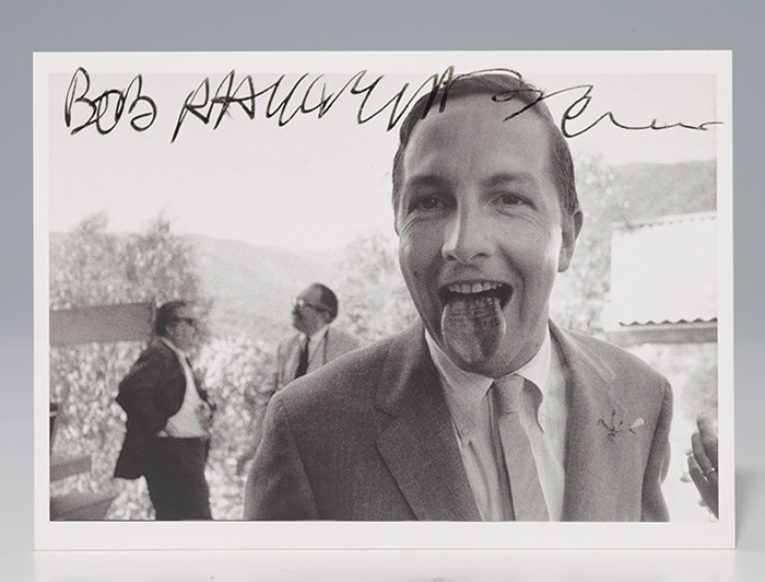 Postcard signed