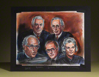 Supreme Court Justices: five original group portraits