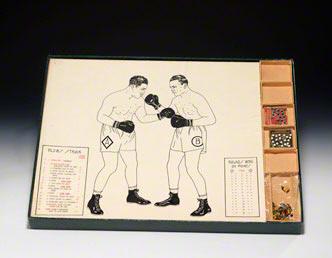 Prototype boxing game