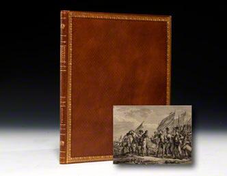Recueil d'estampes representant les differents evenemens de la guerre