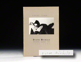 Duane Duck. Duane Michals.