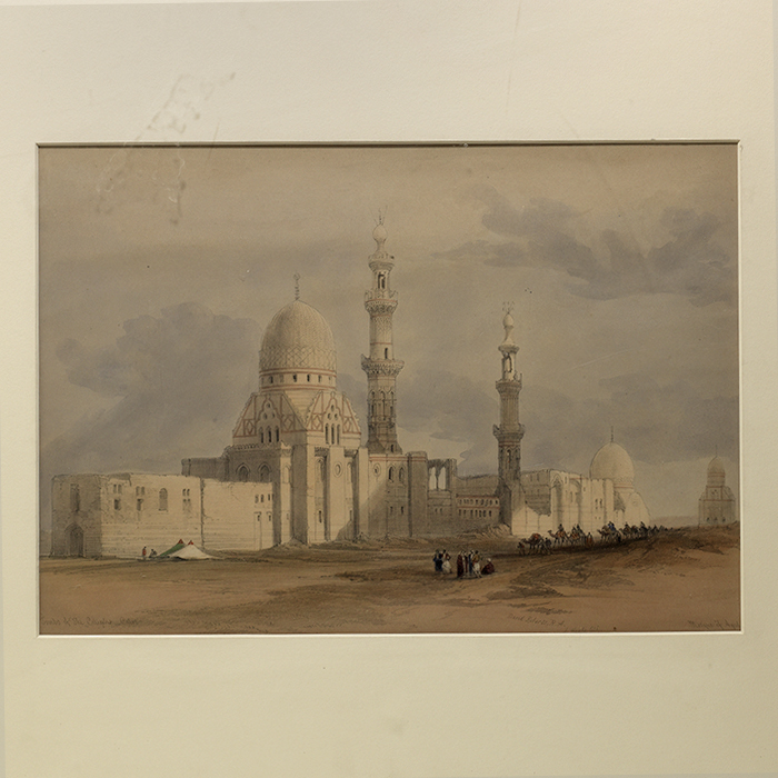 Tombs of the Caliphs - Cairo. Mosque of Ayed Be[y]