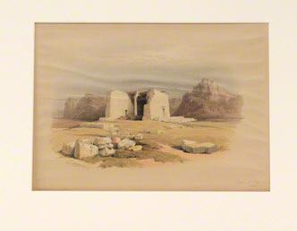 Temple at Tafa in Nubia