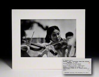 Photograph. Violinist