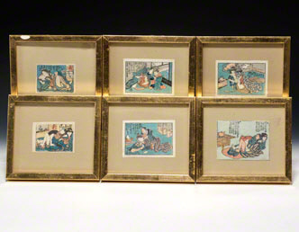Shunga Woodblock Prints