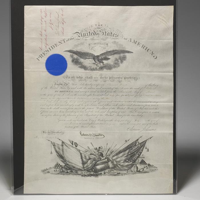 Document signed (stamped signatures)