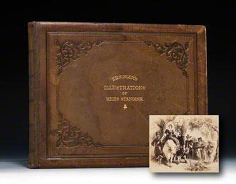 Illustrations of Longfellow's Courtship of Miles Standish