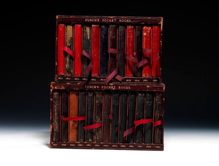 Punch's Pocket Book (long run of 25 volumes)