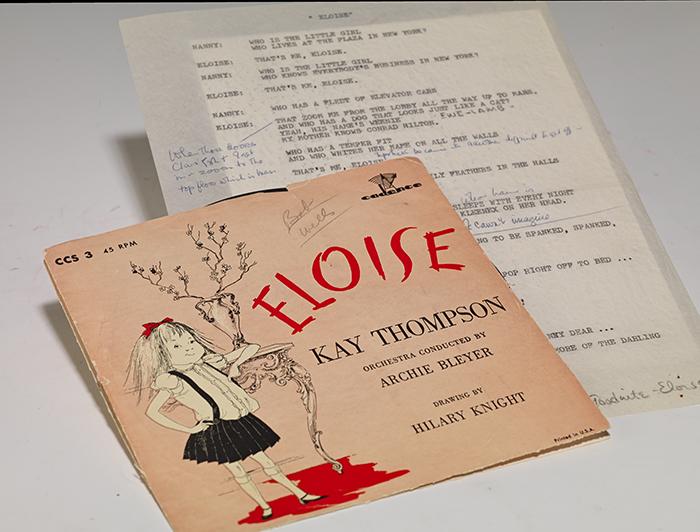 Eloise manuscript archive