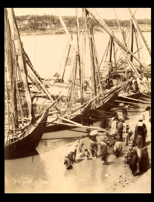 Photograph of Egypt-Port de Boulaq, Cairo